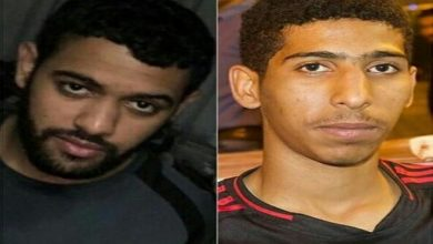 تصویر جریمه حبس برای دو جوان شیعه بحرینی بدلیل حضور در تظاهرات