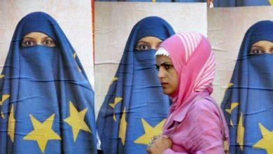 تصویر تأیید ممنوعیت استفاده از روسری در محل کار توسط دادگاه اروپا