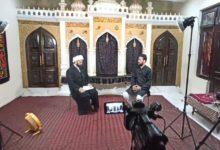 """تصویر آغاز تولید ویژه برنامه """"حسینی پروانه"""" توسط شبکه جهانی امام حسین علیه السلام 4 به زبان اردو"""