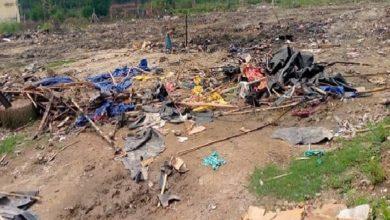 تصویر تخریب مسجد پناهندگان روهینگیا در هند