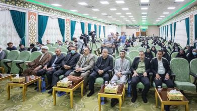 تصویر برگزاری نخستین نشست «رسانه حسینی» در شهر مقدس کربلا