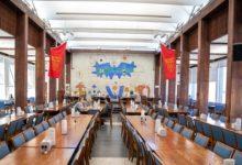 تصویر ارائه غذای حلال در دانشگاه هاروارد