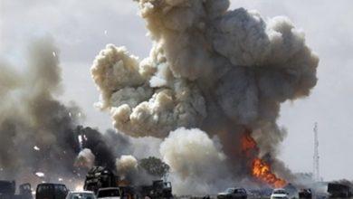 تصویر وقوع انفجار در شهرک صدر بغداد