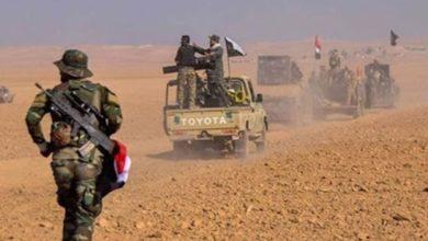 تصویر حمله داعش به نیرهای مسلح عراق