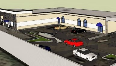 تصویر ساخت یک مرکز اسلامی جدید در ایالت نیوجرسی آمریکا