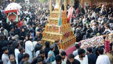 تصویر تلویزیون هند: سخت گیری های دولتی مانع برگزاری مراسم مذهبی شیعیان در ایام محرم می شود!