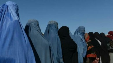 تصویر حجاب در افغانستان اجباری شد