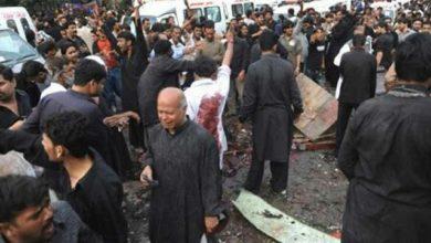 تصویر بازداشت عامل حمله تروریستی به عزاداری شیعیان در پاکستان