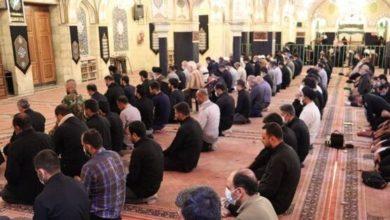 تصویر حال و هوای حرم مطهر حضرت رقیه سلام الله علیها در دهه اول محرم