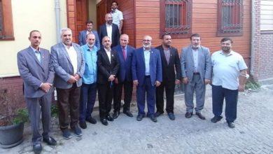 تصویر افتتاح مرکز رسانه ای و فرهنگی امام حسین علیه السلام در استانبول