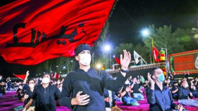 تصویر مقامات ایرانی: برگزاری مراسم عزاداری محرم در این کشور با رعایت پروتکل ها مانعی ندارد