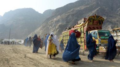 تصویر آواره شدن ۵۵۰ هزار نفر در افغانستان به دلیل درگیریها