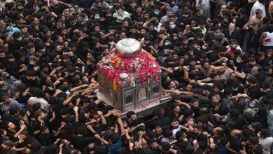 تصویر اعلام برنامه های ماه محرم توسط شیعیان پاکستان