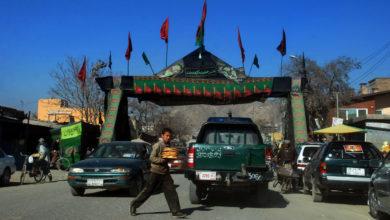 تصویر عزاداری شیعیان افغانستان در زمان پیشروی طالبان