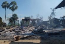 تصویر جنایات ارتش میانمار در حق مسلمانان روهینگیا