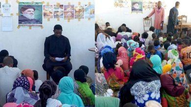 تصویر برگزاری مراسم اربعین حسینی از سوی مقلدان مرجعیت شیعه در ماداگاسکار