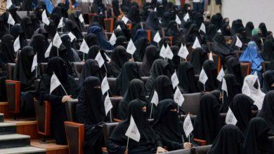 تصویر طالبان ورود زنان به دانشگاه کابل را تا اطلاع ثانوی ممنوع کرد