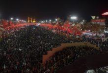 تصویر بر اساس آمار اعلام شده تا به این لحظه .. شرکت بیش از ۱۷ ملیون زائر در پیاده رویی اربعین امسال