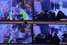 تصویر گستردهترین پوشش رسانهای زنده مشايه اربعین حسینی توسط مجموعه رسانهای امام حسین علیه السلام