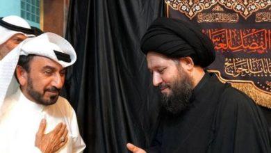 تصویر پایان مراسم دهه حسنیه در منزل حجت الاسلام والمسلمین سید احمد شیرازی در کویت