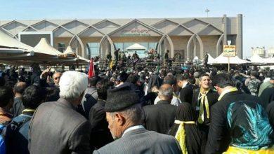 تصویر فوری: مرز مهران به روی زائران باز شد