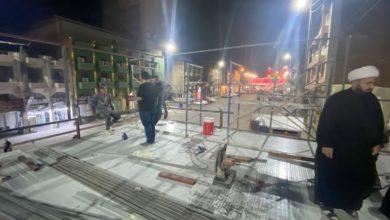 تصویر فعالیت استودیو سیار شبکه جهانی مرجعیت به مناسبت اربعین حسینی علیه السلام