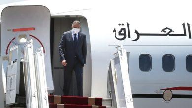 تصویر نخست وزیر عراق وارد تهران شد