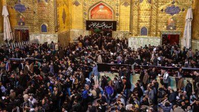 تصویر تعطیلی اداره های شهر مقدس نجف در اربعین حسینی