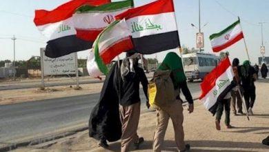 تصویر بازگرداندن زائران ایرانی که از مرز خسروی وارد عراق شده بودند