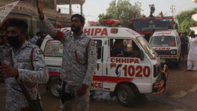 تصویر ۷ قربانی در حملات تروریستی سنی های تندرو در پاکستان