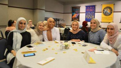 تصویر طرح انجمن دانشجویان مسلمان دانشگاه مارکت آمریکا برای ارتباط میان ادیانی دانشجویی
