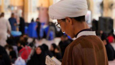 تصویر نگرانی طلاب هزاره مقیم شهر مقدس نجف از رفتار طالبان در مناطق شیعه نشین