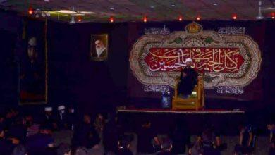 تصویر بزرگداشت سالروز شهادت حضرت رقیه سلام الله علیها در شهر سماوه عراق