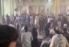تصویر حمله عاملان انتحاری به مسجد شیعیان قندهار