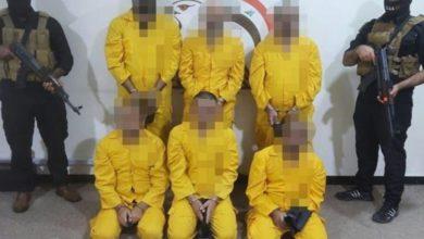 تصویر دستگیری خطرناکترین گروه داعش در موصل