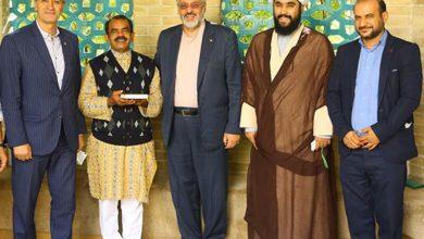 تصویر داور بینالمللی هندی مسلمان شد