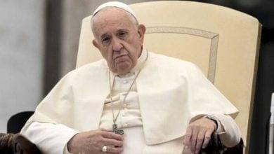 تصویر پاپ فرانسیس حملات تروریستی در افغانستان را محکوم کرد