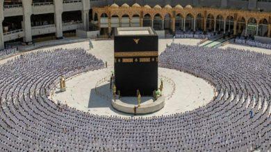 تصویر افزایش چشمگیر حضور نمازگزاران در مسجدالحرام