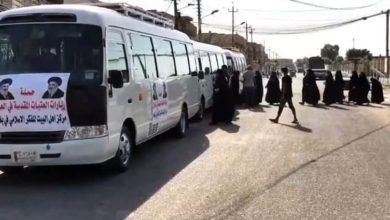 تصویر تدارک دومین سفر زیارتی خانواده های شهدا عراقی توسط مرکز اندیشه اسلامی اهل بیت علیهم السلام
