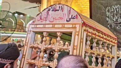 تصویر شیعیان در حزن و اندوه حضرت محسن علیه السلام