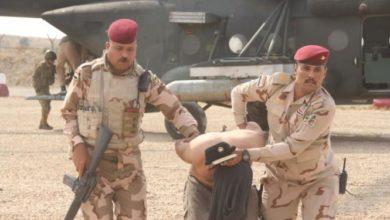 تصویر بازداشت یک فرمانده داعشی دیگر در عراق
