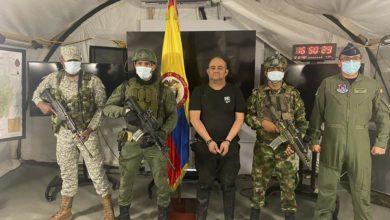 تصویر سرکرده بزرگترین کارتل کوکایین در کلمبیا بازداشت شد