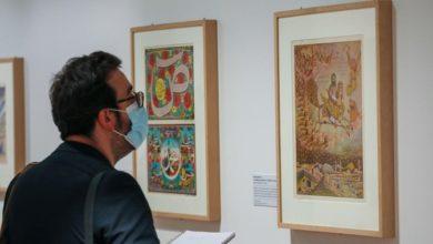 تصویر نمایشگاه آثار هنری متعلق به واقعه کربلا در فرانسه