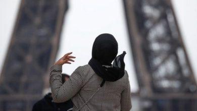 تصویر افزایش نقض حقوق بانوان محجبه در فرانسه