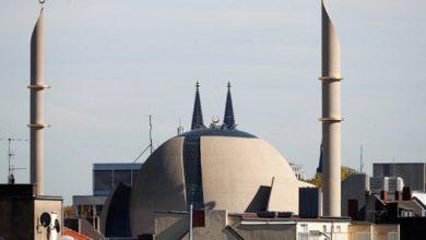 تصویر اجازه پخش اذان از بزرگ ترین مسجد آلمان