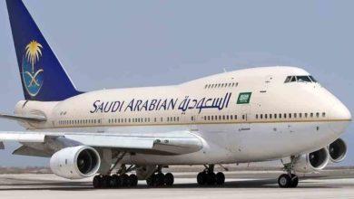 """تصویر اولین پرواز مستقیم از عربستان سعودی به """"اسرائیل"""""""