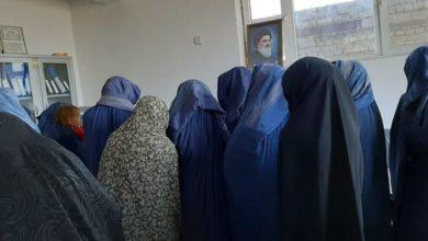 تصویر توزیع مساعدت نقدی دفتر مرجعیت شیعه در مزار شریف میان صدها خانواده یتیم